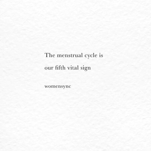Menscykeln – vårt femte hälsotecken