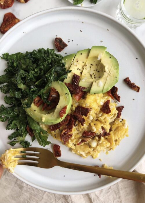 Äggröra för hormoner i balans